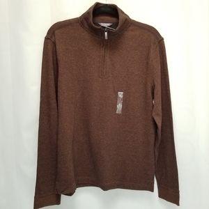 Van Heusen Flex Jaspe 1/4 Zip Pullover